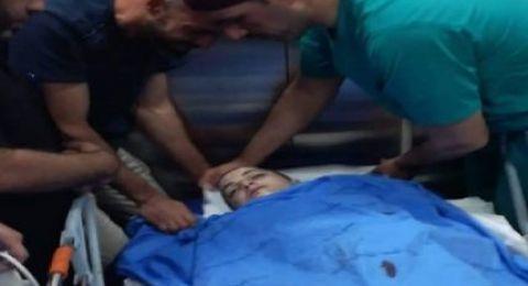 استشهاد طفل برصاص الاحتلال اثناء محاولته الدخول للاقصى