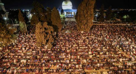 ليلة القدر في فلسطين