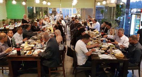 سفير الاتحاد الاوروبي يقيم افطار في وادي عارة