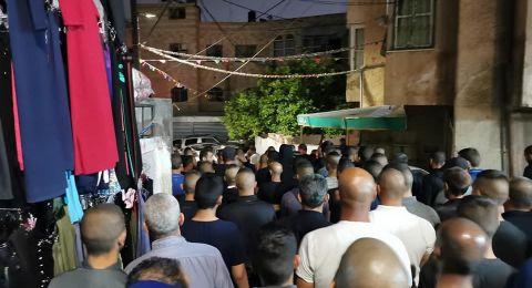 ام الفحم: تشييع جثمان ساهر ابو غزال