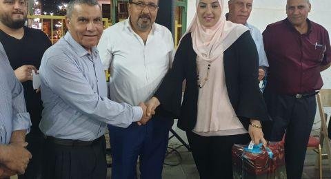 بستان المرج : لجنة الموظفين تنظم أفطار جماعي لموظفي المجلس