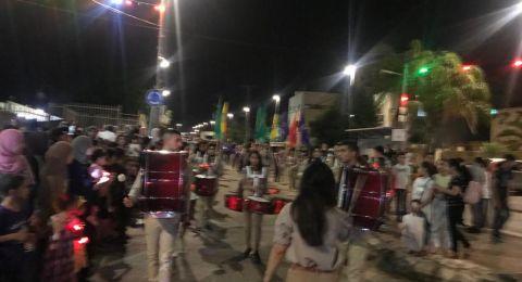 أمسيات رمضانية ومسيرات مميزة في قرى الجلبوع .. إفطار جماعي ومسيرة في المقيبلة