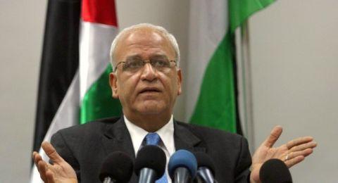 عريقات: دولة فلسطين لن تشارك في مؤتمر البحرين