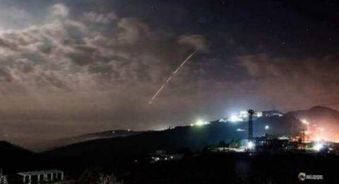 إطلاق صاروخ من داخل الأراضي السورية اتجاه إسرائيل