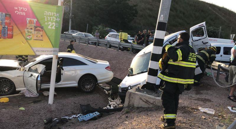 مفترق يسعور: مصرع سيدة وإصابة آخرين في حادث طرق