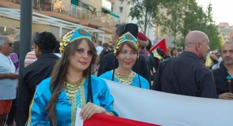 فرقة جفرا للدبكة الشعبية – عبلين في مهرجان للفلكلور الدولي في اسبانيا