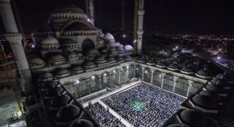 افتتاح أكبر مسجد في تركيا بليلة القدر