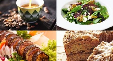 أطباق رمضانية: سلطة الشمندر، كباب الباذنجان بالفرن وكيكة القرفة