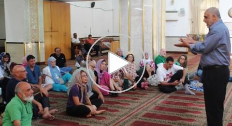 سخنين: اقبال واسع في جولة سياحية استثنائية تعزز قيمة التعايش واللغة المشتركة في رمضان