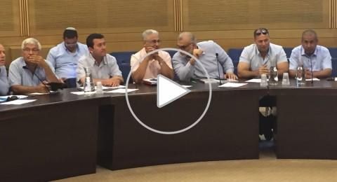 النائب بهلول :على كاهل الشرطة ملقاه مسؤولية حل ملفات الجرائم في المجتمع العربي