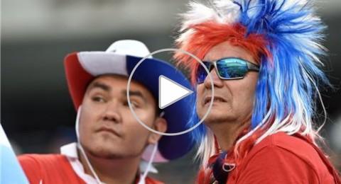 عشر لقطات تلخص بطولة كوبا أمريكا المئوية