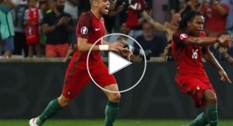 البرتغال تتأهل لنصف نهائي اليورو بفوزها على بولندا
