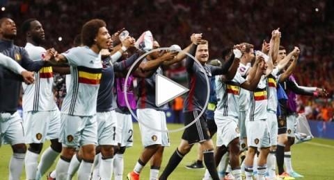 يورو 2016: بلجيكا تسحق المجر برباعية وتواجه ويلز في ربع النهائي