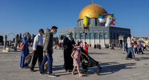 آلاف المصلين أدوا صلاة عيد الأضحى بالأقصى