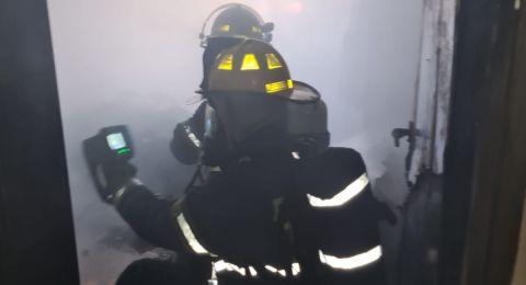 المكر: اندلاع حريق في شقة سكنية