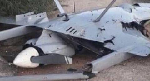 سقوط طائرة اسرائيلية مسيرة في الاراضي اللبنانية