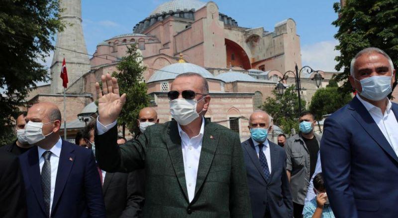 بطريرك القسطنطينة يشكر أردوغان.. لماذا؟