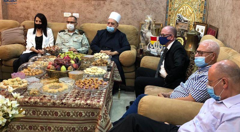 اللجنة الاستشارية في زيارة للشيخ موفق طريف: المسموح والممنوع في عيد الأضحى هذا العام