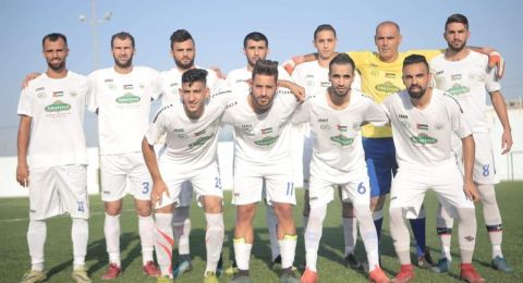 هـ. ام الفحم يتعادل مع النادي الرياضي جنين(2-2)