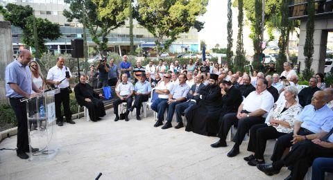 تدشين ساحة على اسم المرحوم كميل شحادة في حيفا