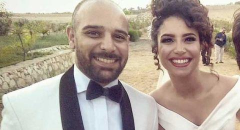 نجمة ستار اكاديمي نسمة محجوب والملحن شادي الحلواني يحتفلان بزفافهما