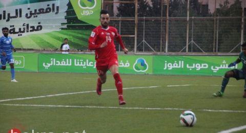 للعام الثالث... عبد جابر، أفضل ظهير أيسر فلسطيني