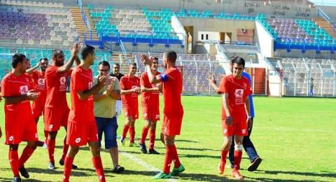 ديربي طلعة عارة بين مصمص وزلفة على ملعب جسر الزرقاء