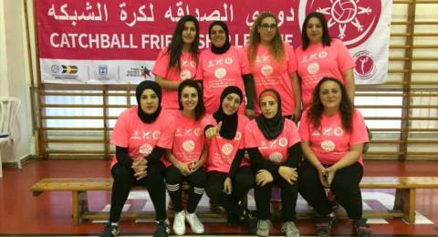 حصول فريق طرعان النسائي لكرة الشبكة على الجائزة الاولى باللعب العادل (fair play)