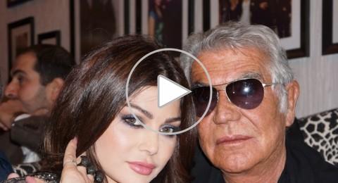 روبيرتو كافالي الفنانات اللبنانيات مناسبات لتصاميمي