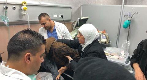 اصابات برصاص الاحتلال في المغير شمال رام الله