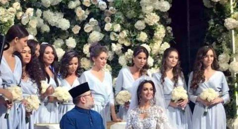 بعد خسارة عرش ماليزيا.. أنباء عن طلاق الملك من زوجته الروسية