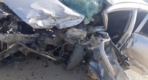 النقب: مصرع شخص واصابة اخرين في حادث طرق مروع