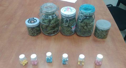 الطيرة: العثور على كميات كبيرة من المخدرات بمنزل واعتقالات