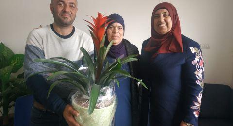 ام الفحم: افتتاح قاعة حواسيب في اعدادية خديجة عن روح المرحوم مروح سعيد حمدان