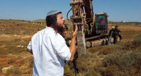 مستوطنون يستولون على أراضٍ جنوب بيت لحم