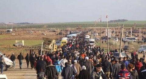 غزة تستعد لمسيرة العودة