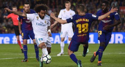 قرعة نصف نهائي كأس إسبانيا تسفر عن كلاسيكو بين ريال مدريد وبرشلونة