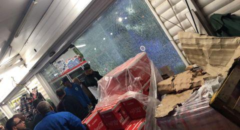 طمرة: اصابة طفيفة جراء  اطلاق النار على محل تجاري
