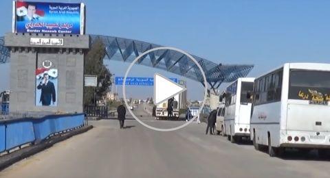 عودة 9400 لاجئ سوري منذ فتح معبر نصيب الحدودي مع الأردن