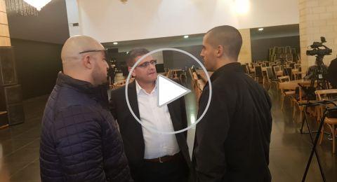 أشرف قرطام: أتمنى من العربية للتغيير فهم دورهم كحزب وتحقيق النجاح في المشتركة