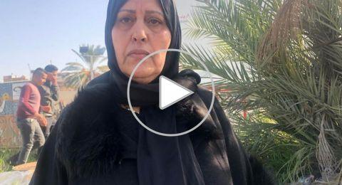 الحاجّة نادية محاميد لـ