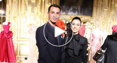 منسقة الملابس ليالي حوا تلتقي مع مصمم الازياء العالمي رامي العلي في باريس