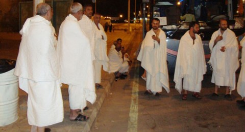 المشاركون في عمرة الإحرام من المسجد الأقصى الى المسجد الحرام ينهون مناسك العمرة في مكة المكرمة