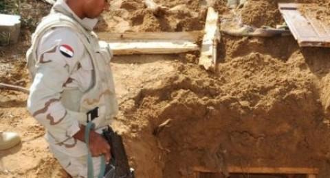 الجيش المصري: ضبطنا اكبر نفق على حدود غزة!