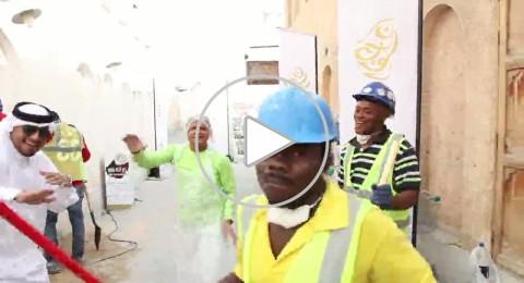 قطر وعيد العمال