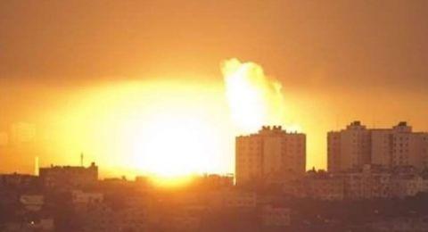 القصف الاسرائيلي مستمر على غزة وصافرات في بلدات الجنوب