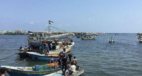 البحرية الاسرائيلية تعترض سفينة الحرية المبحرة من غزة