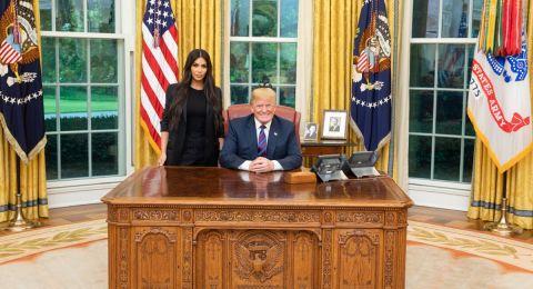 ماذا بحث ترامب مع كيم كاردشيان في البيت الأبيض الليلة الماضية؟!