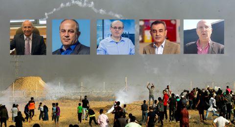 سياسيون لبُـكرا: إسرائيل استباحت الدم الفلسطيني وهدمت غزة، ويجب معاقبتها