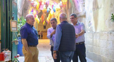 الناصرة: اطلاق مبادرة بعد الإفطار يلا ع السوق